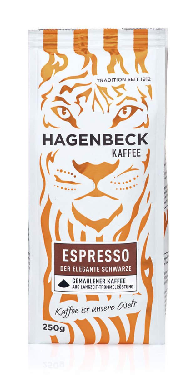 Hagenbeck Kaffee führt 250g Espresso Packung ein