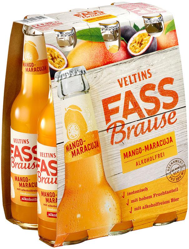 Veltins Fassbrause Mango-Maracuja sorgt für fruchtig-spritzige Erfrischung